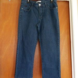 Lee Natural Fit 10 Medium Jean Capris